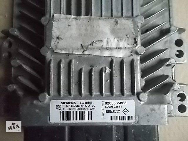 купить бу Б/у Электрооборудование двигателя Блок управления двигателем Легковой Renault Megane 2006 в Ровно