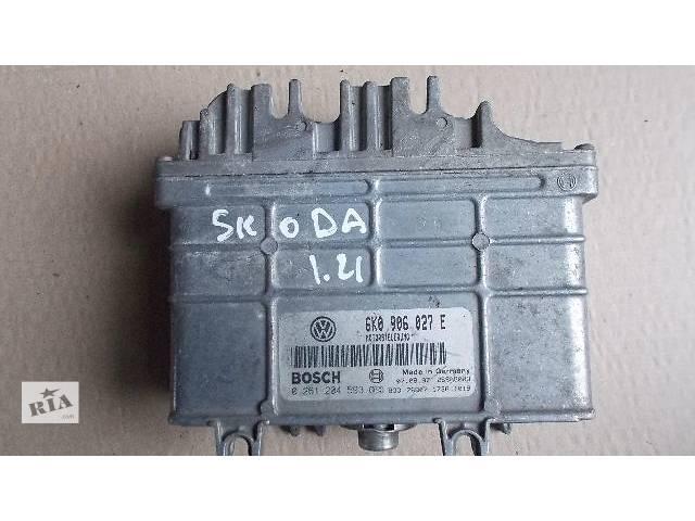 Б/у Электрооборудование двигателя Блок управления двигателем Легковой Skoda 1.4 1997 6K0906027E- объявление о продаже  в Ровно