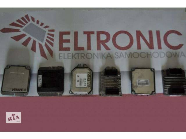 б/у Электрооборудование двигателя Блок управления двигателем Легковой Skoda Roomster- объявление о продаже  в Львове