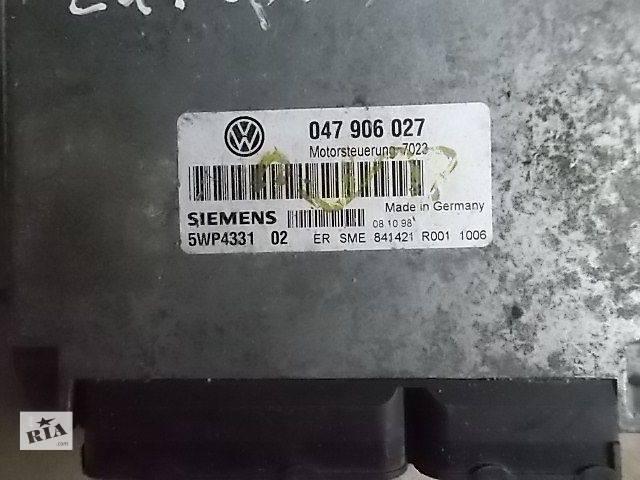 бу Б/у Электрооборудование двигателя Блок управления двигателем Легковой Volkswagen Lupo 1999 047906027 в Ровно