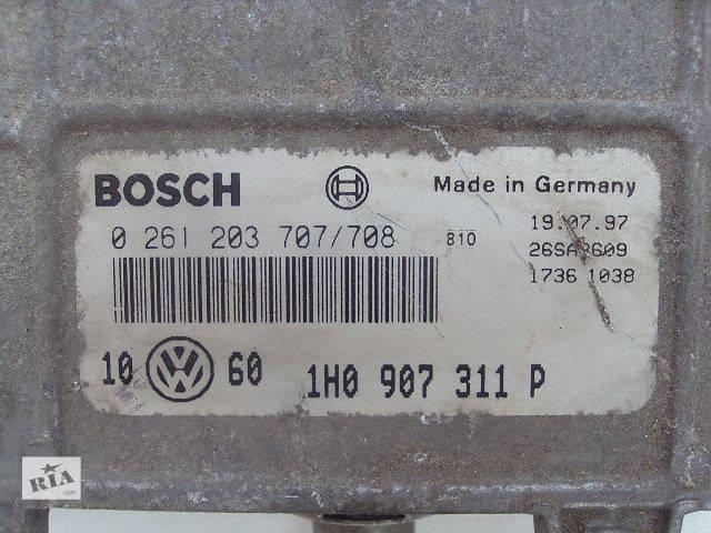 бу б/у Электрооборудование двигателя Бортовой компьютер Легковой Volkswagen Golf IIІ 1995 в Львове