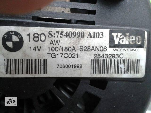 бу б/у Электрооборудование двигателя Генератор/щетки Легковой BMW 7 Series (все) Седан 2007 в Киеве