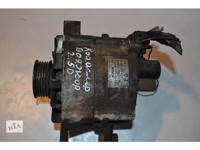 бу Б/у Электрооборудование двигателя Генератор/щетки Легковой Chrysler Voyager 2.5D в Ковеле