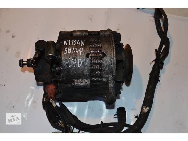 б/у Электрооборудование двигателя Генератор/щетки Легковой Nissan Sunny 1.7D- объявление о продаже  в Ковеле