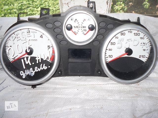 продам б/у Электрооборудование двигателя Панель приборов/спидометр/тахограф/топограф Легковой Peugeot 207 бу в Кривом Роге (Днепропетровской обл.)