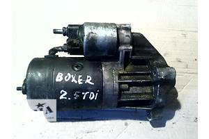 б/у Стартеры/бендиксы/щетки Peugeot Boxer груз.