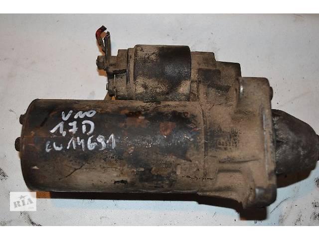 бу б/у Электрооборудование двигателя Стартер/бендикс/щетки Легковой Fiat Uno 1.7D в Ковеле
