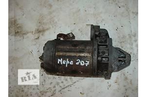 б/у Стартер/бендикс/щетки Mercedes 207