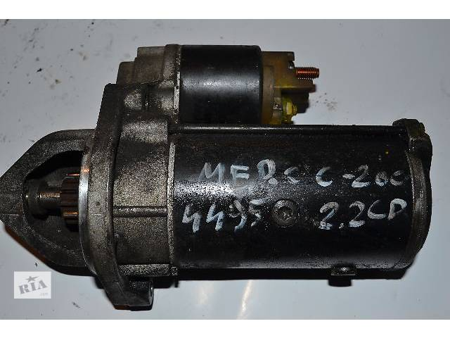 бу Б/у Электрооборудование двигателя Стартер/бендикс/щетки Легковой Mercedes Sprinter 2.2CDI в Ковеле