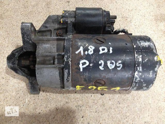 бу б/у Электрооборудование двигателя Стартер/бендикс/щетки Легковой Peugeot Partner 1.9D в Луцке