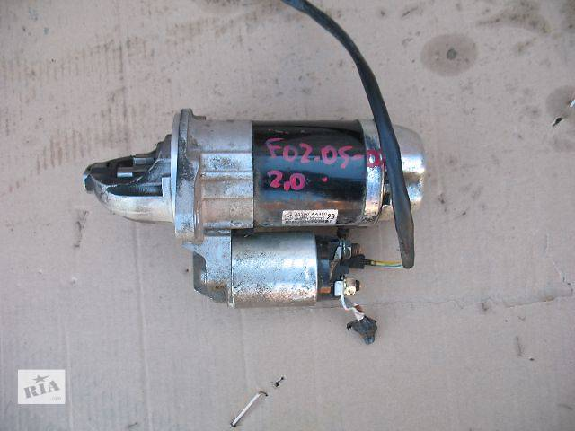 купить бу б/у Электрооборудование двигателя Стартер/бендикс/щетки Легковой Subaru Forester 2006 в Луцке