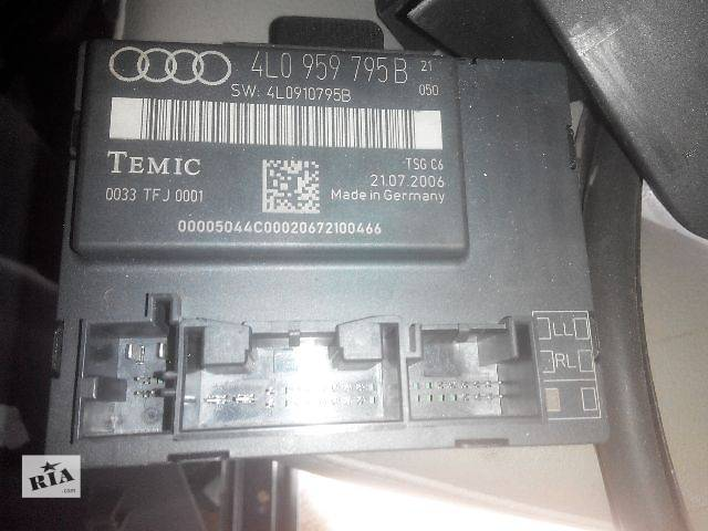 купить бу б/у Электрооборудование кузова 4L0959795B Блок комфорта VAG Легковой Audi Q7 2007 в Львове