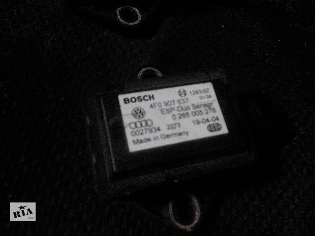 бу б/у Электрооборудование кузова Audi A6 C6 Датчик прискорення VAG 4f0907637 Bosch Легковой Audi A6 2006 в Львове