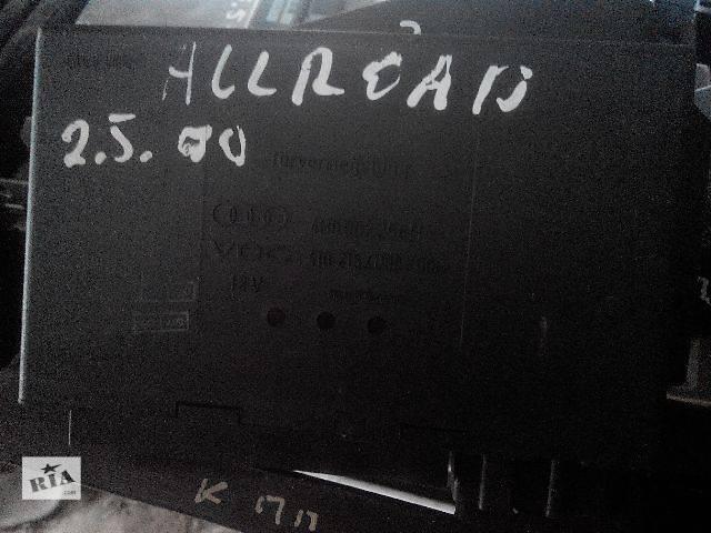бу б/у Электрооборудование кузова Блок комфорту Audi A6, 4B0962258H Легковой Audi A6 2002 в Львове