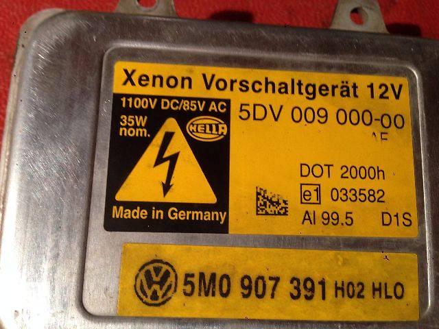бу б/у Электрооборудование кузова Блок ксенона Легковой Volkswagen Touareg в Ковеле