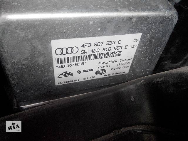 продам б/у Электрооборудование кузова Блок управления пневмо подвеской 4E0907553E audi Легковой Audi A8 2005 бу в Львове
