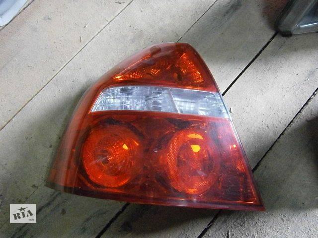 б/у Электрооборудование кузова Фонарь задний Легковой Chevrolet Aveo- объявление о продаже  в Луцке