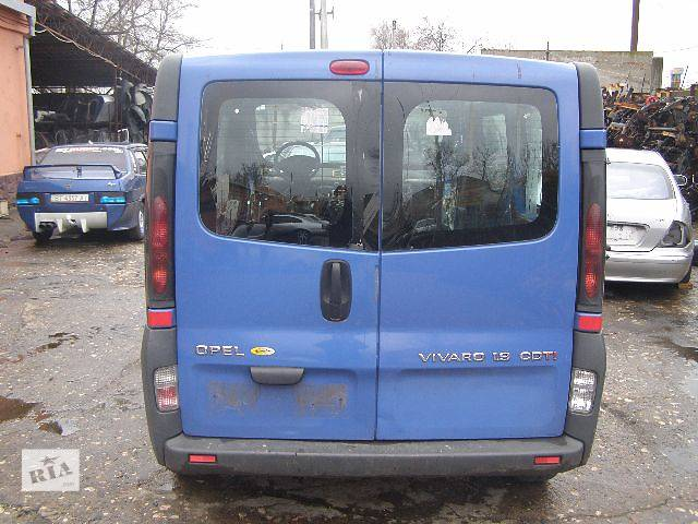 бу б/у Электрооборудование кузова Фонарь задний Легковой Opel Vivaro в Новой Каховке