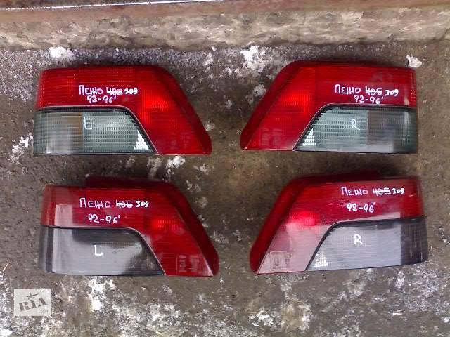 бу Б/у Электрооборудование кузова Фонарь задний Легковой Peugeot 309 в Сумах