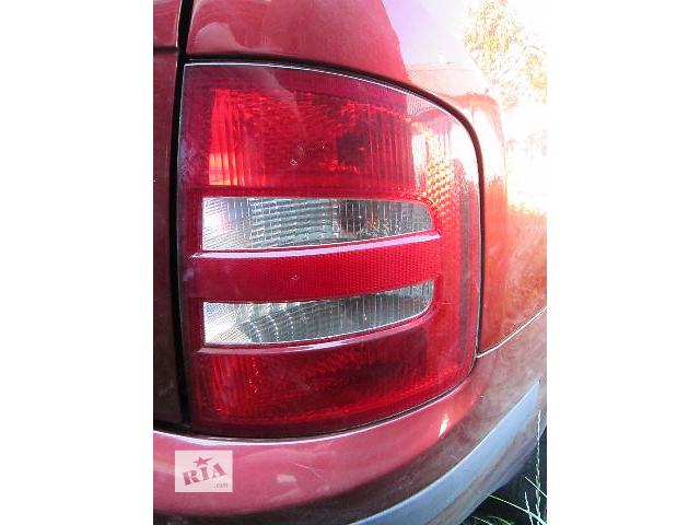 купить бу б/у Электрооборудование кузова Фонарь задний Легковой Skoda Fabia Combi 2005 в Ковеле