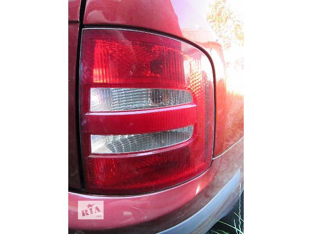 б/у Электрооборудование кузова Фонарь задний Легковой Skoda Fabia Combi Универсал 2005- объявление о продаже  в Ковеле