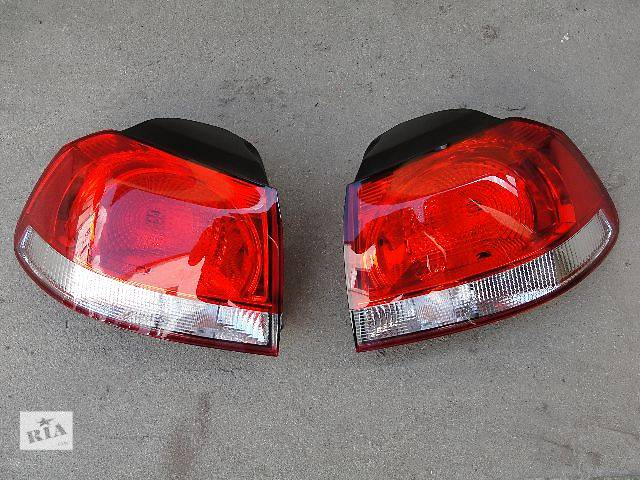 бу б/у Электрооборудование кузова Фонарь задний Volkswagen Golf VI в наличии!!!!! в Львове