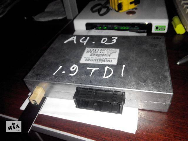 б/у Электрооборудование кузова Інтерфейсний блок 8P0862335 Легковой Audi A4 2003- объявление о продаже  в Львове