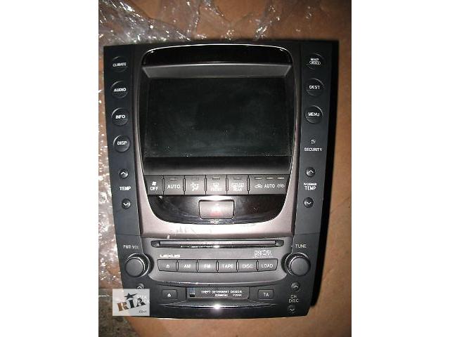 бу б/у Электрооборудование кузова Радио и аудиооборудование/динамики Легковой Lexus GS 2006 в Луцке