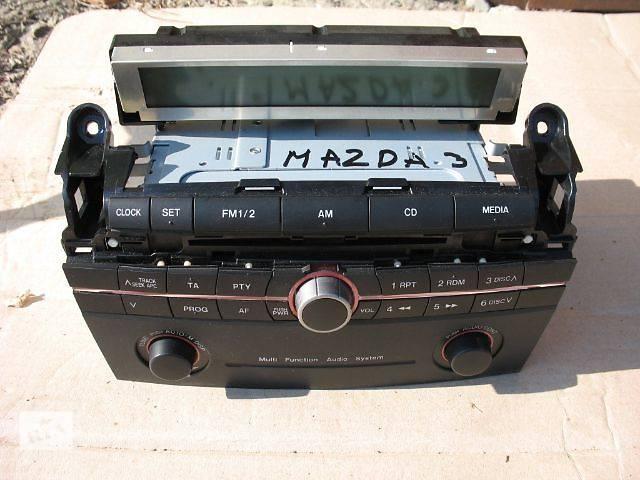 бу б/у Электрооборудование кузова Радио и аудиооборудование/динамики Легковой Mazda 3 2006 в Луцке