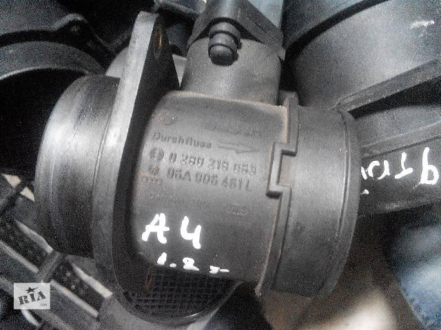 купить бу б/у Электрооборудование кузова Расходомер воздуха  1.8T 0280218063 06A906461L Легковой Audi 2002 в Львове
