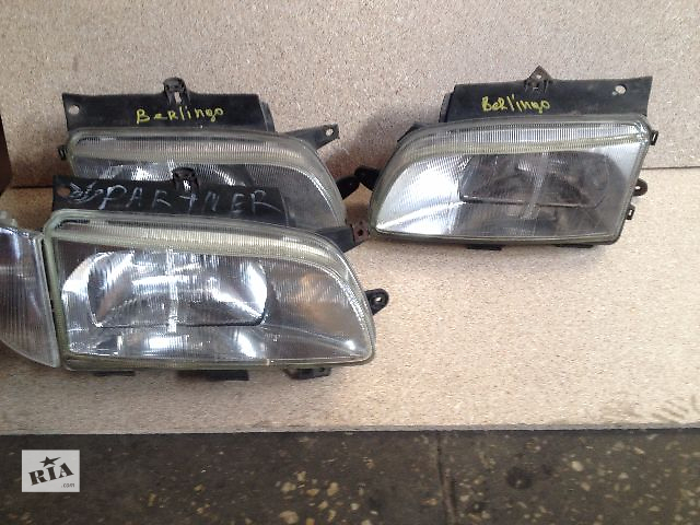 бу Б/у фара для легкового авто Citroen Berlingo цена за 1 шт в Луцке