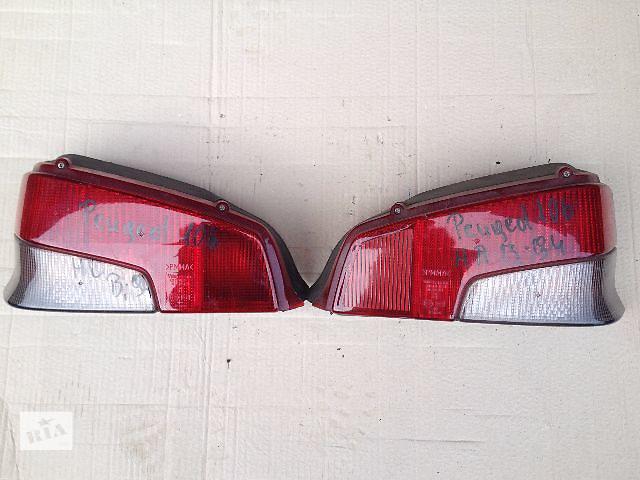 Б/у фонарь стоп для легкового авто Peugeot 106 за пару 500 грн- объявление о продаже  в Луцке