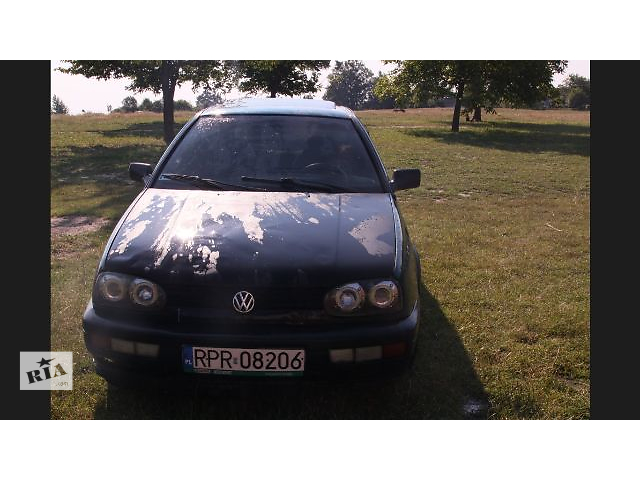 бу Б/у капот для легкового авто Volkswagen Golf IIІ в Львове