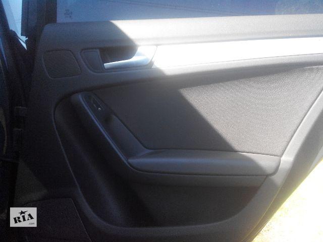 продам Б/у карта двери для легкового авто Audi A4 2010 бу в Львове