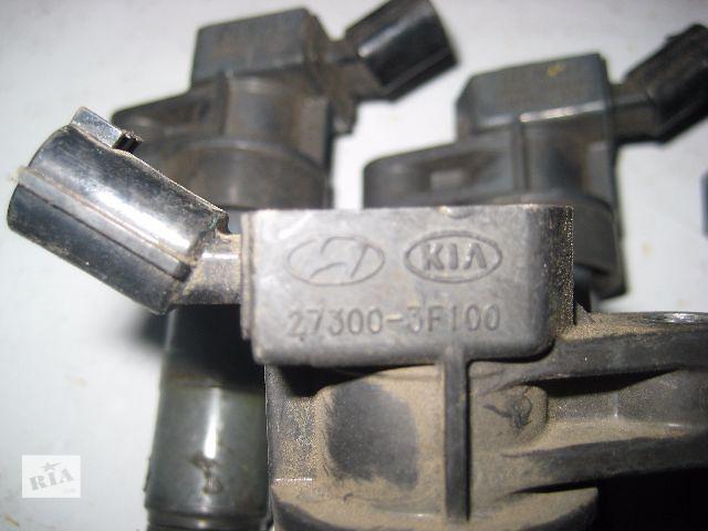 купить бу Б/у Катушка зажигания Hyundai Genesis Coupe 2.0i Turbo 2008~2015 OE:27300-3F100 Гарантия Доставка Установка в Киеве