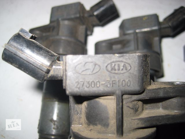 бу Б/у Катушка зажигания Hyundai Santa FE CM10 2.4i 2010~2011 OE:27300-3F100 Гарантия Доставка Установка в Киеве