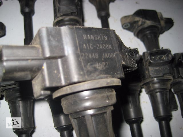 продам Б/у Катушка зажигания NISSAN Tiida C11 1.8i MR18-DE 2006~2013 OE:22448-JA00C Гарантия Доставка Установка бу в Киеве