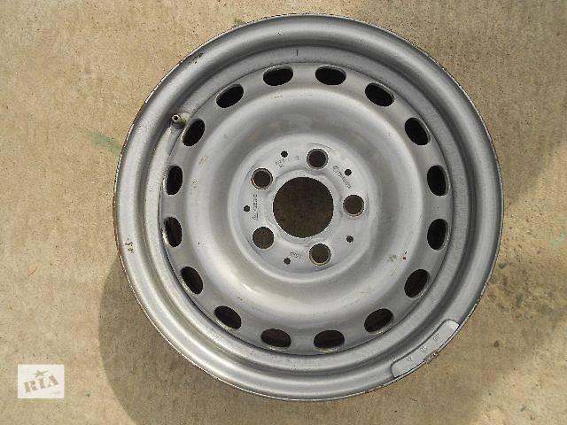 купить бу б/у Колеса і шини Диск металический Диск 6 Легковой 15 60 5x112 в Чопе