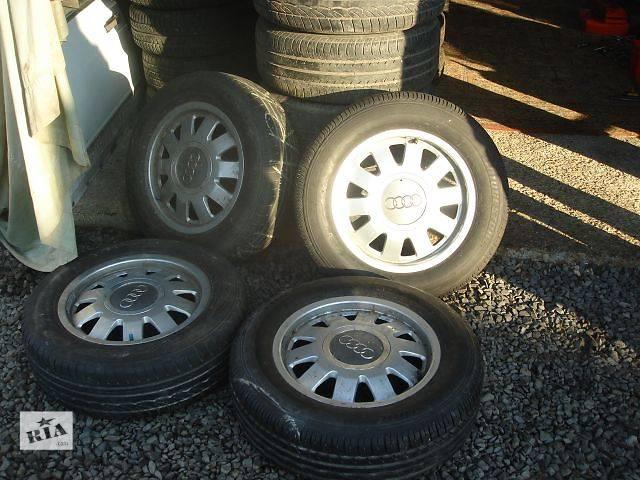 бу Б/у Колеса и шины Диск 15 Легковой Audi A6 1995 в Берегово