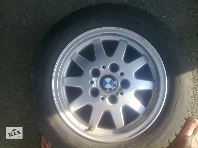 купить бу б/у Колеса и шины Диск Диск литой 15 5x120 Легковое авто BMW 3 Series в Жидачове
