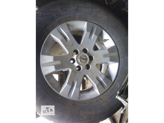 продам б/у Колеса и шины Диск Диск литой 17 Легковой Nissan Navara Пикап 2007 бу в Киеве