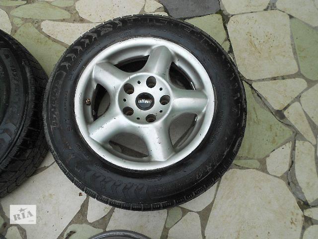 продам б/у Колеса и шины Диск литой Диск 7 Легковой BMW 15 318 5x120 бу в Ужгороде