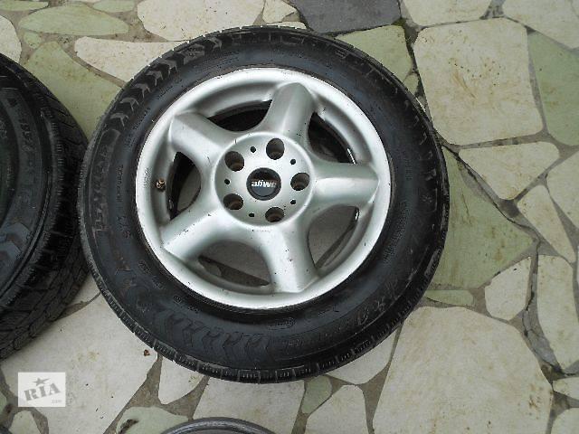 бу б/у Колеса и шины Диск литой Диск 7 Легковой BMW 15 323 5x120 в Ужгороде