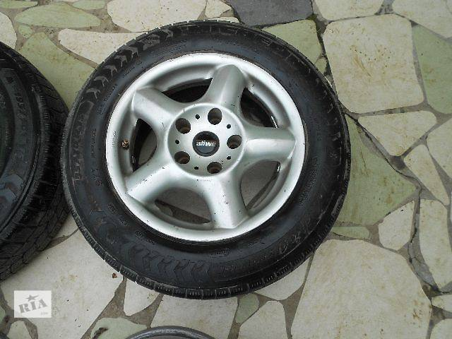 продам б/у Колеса и шины Диск литой Диск 7 Легковой BMW 15 330 5x120 бу в Ужгороде