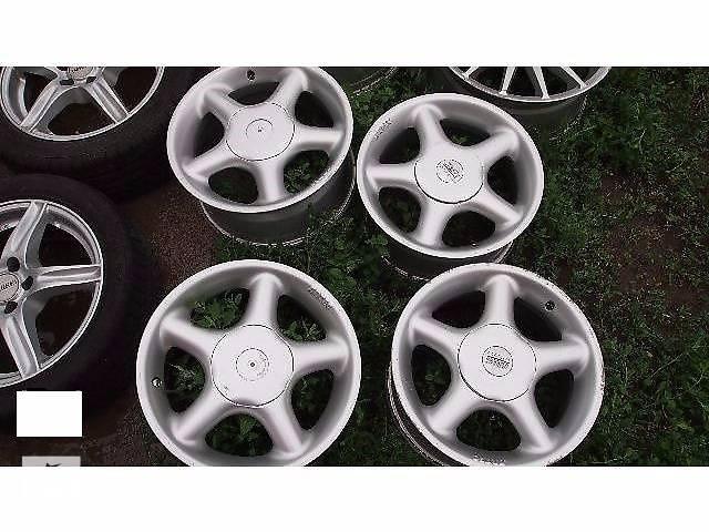 купить бу б/у Колеса и шины Диск Диск литой Artec 7 15 38 4x114.3 Легковой Mitsubishi nisan kia в Полтаве