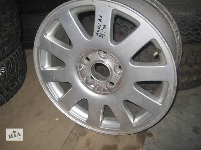б/у Колеса и шины Диск Диск литой Audi Original A6 6.5 16 Легковой Audi A6- объявление о продаже  в Львове