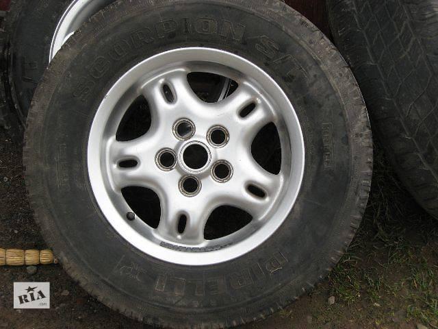 купить бу б/у Колеса и шины Диск Диск литой Легковой Land Rover в Тернополе