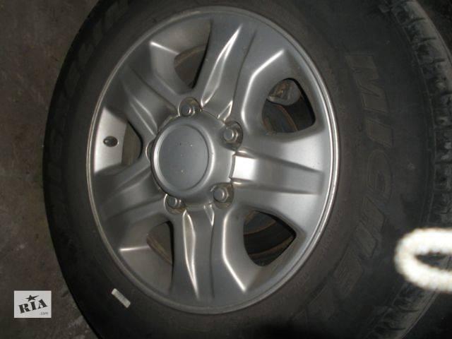 купить бу б/у Колеса и шины Диск Диск литой Легковой Toyota Land Cruiser 100 2006 в Луцке