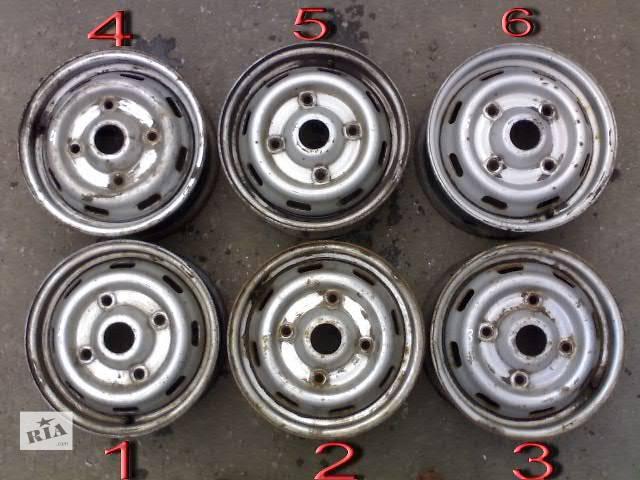 купить бу Б/у Колеса и шины Диск Диск металический 14 Легковой Renault Trafic груз. в Сумах