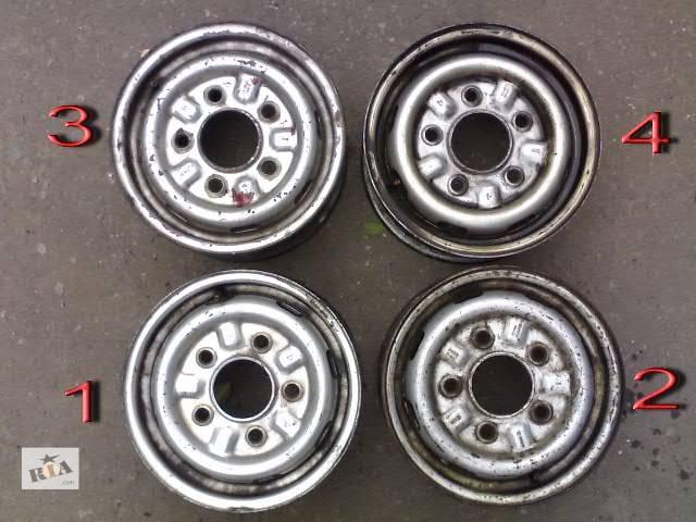 бу Б/у Колеса и шины Диск Диск металический 14 Легковой Volkswagen LT груз. в Сумах